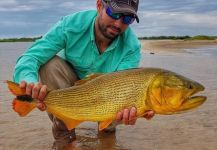"Foto de Pesca con Mosca de Tiger of the River compartida por Carlos ""Mona"" Leguizamón 
