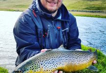 Nice Fly-fishing Picture by Valdimar Valsson