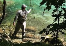 Fly-fishing Situation of Marble Trout shared by Flyfishingodec Slovenia
