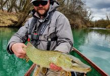 Impressive Fly-fishing Situation of Pike - Photo shared by Uros Kristan - URKO Fishing Adventures | Fly dreamers