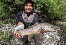 Fly-fishing Photo of von Behr trout shared by Matapiojo  Lodge | Fly dreamers
