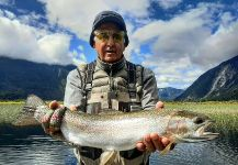 Matapiojo  Lodge 's Fly-fishing Photo of a Rainbow trout | Fly dreamers