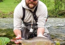 Fly-fishing Picture of Grayling shared by Uros Kristan - URKO Fishing Adventures | Fly dreamers