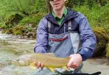 Fly-fishing Pic of Marble Trout shared by Uros Kristan - URKO Fishing Adventures | Fly dreamers