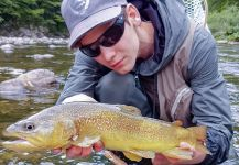 Fly-fishing Situation of Marble Trout shared by Uros Kristan - URKO Fishing Adventures