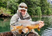 Matapiojo  Lodge 's Fly-fishing Pic of a von Behr trout | Fly dreamers