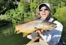 Fly-fishing Photo of Brown trout shared by Matapiojo  Lodge | Fly dreamers
