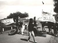 Protests during the '80s