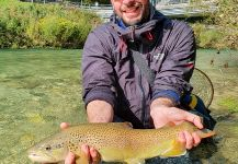 brown trout Fly-fishing Situation – Uros Kristan - URKO Fishing Adventures shared this Pic in Fly dreamers
