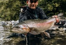Luka Šimunjak 's Fly-fishing Catch of a Rainbow trout | Fly dreamers