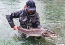 Fly-fishing Situation of Taimen shared by Uros Kristan - URKO Fishing Adventures