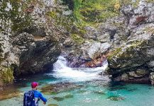 Fly-fishing Situation of Marble Trout - Picture shared by Uros Kristan - URKO Fishing Adventures | Fly dreamers
