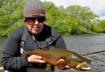 Fly-fishing Pic of Brown trout shared by Laura Gamero – Fly dreamers