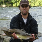 Luis San Miguel 's Fly-fishing Photo of a Pink salmon – Fly dreamers