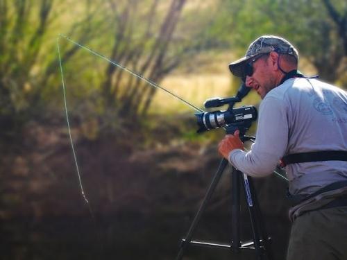 Pablo Saracco es productor audiovisual de manera independiente, instructor/guía de pesca con mosca en Patagonia, y artista plástico. Entrevista por Patricio Mac Allister.. Fd: ¿Cómo fue que empezaste con la producción de videos...