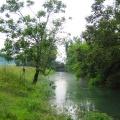 Bistra river after heavy storm