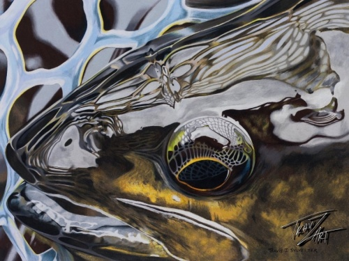 A short interview with one the coolest fly artists out there. His work can be found everywhere from Fly Rod & Reel and American Angler magazines to great products by different brands. Here's more about him, in his own words.