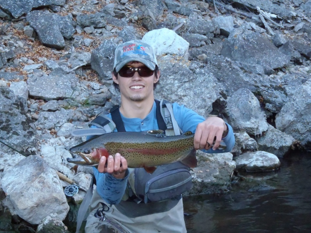 Cody burgdorff fly fishing guide fly tying instructor for Fly fishing flies chart