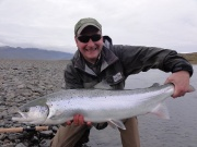 River Jokla in Iceland. Angler: throstur Ellidason http://anglers.is/index.php/salmon-rivers/jokla-river