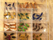 And now, a little more organized! I have a goal for 2015, tying 2000 flies, and meanwhile, I wanted to buy a new rotary vise that I wouldn't buy until I reached 500 flies and saved the money. Well, I managed to save the money and these babies got me at 50