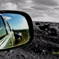Patagonia Argentina in the mirror!