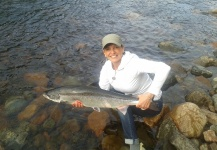 Fly-fishing Picture of Atlantic salmon shared by Robert  Chiasson – Fly dreamers