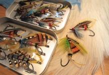 Fly-tyingfor Atlantic salmon -Pic by Len Handler