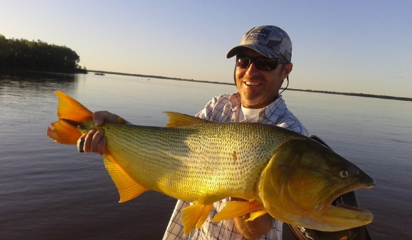 Fishing Report: Marcelo Rouvier, Florencia - Santa Fe, Puerto Piracua, Argentina