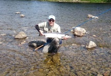 Simen Saetersdal 's Fly-fishing Pictureof a Atlantic salmon– Fly dreamers