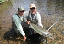 Atlantic salmon Fly-fishing Situation – Len Handler shared this Pic in Fly dreamers
