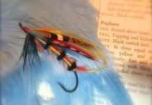 Len Handler 's Fly-tyingfor Atlantic salmon -Pic – Fly dreamers