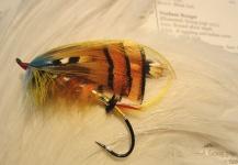 Len Handler 's Fly-tyingfor Atlantic salmon -Image – Fly dreamers