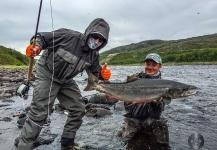Jako Lucas 's Fly-fishing Photo of a Atlantic salmon – Fly dreamers