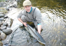 Mark Taylor 's Fly-fishing Pictureof a Atlantic salmon– Fly dreamers