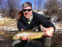 Late winter Rainbow on the Fork.