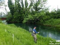 Fly fishing in Slovenia with Urko Fishing Adventures