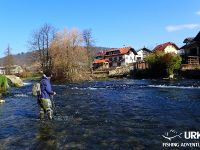Ansel Orr - Fly Fishing - Krka - Urko Fishing Adventures - Slovenia