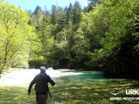 Fly Fishing - Koritnica - Urko Fishing Adventures - Slovenia