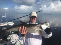Mark from Wyoming came down to fly fish for tarpon.  It was good