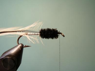 Fly tying - Big Hole Demon (Silver) - Step 6
