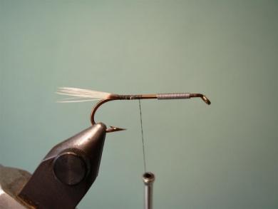 Fly tying - Big Hole Demon (Silver) - Step 2