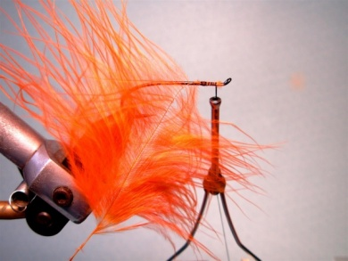 Fly tying - Popsicle - Step 1
