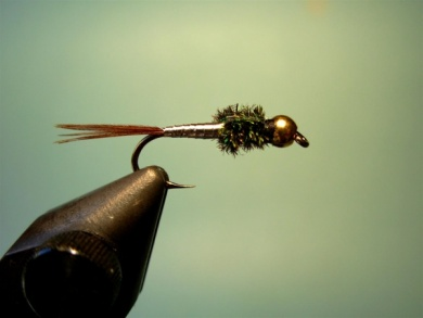 Fly tying - Lightning Bug (variation) - Step 7