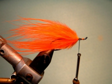 Fly tying - Popsicle - Step 2