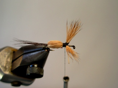 Fly tying - Red Humpy - Step 6