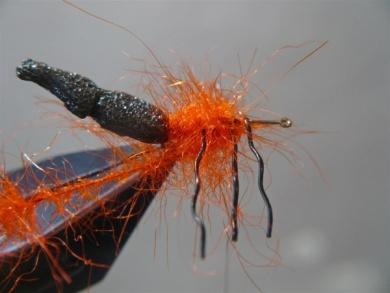 Fly tying - Gaja's Winged Fishing Beetle - Step 15