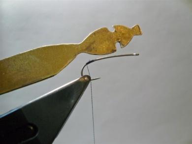 Fly tying - Gaja's Winged Fishing Beetle - Step 2