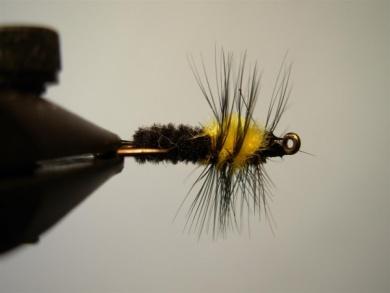 Fly tying - Montana Stone - Step 9