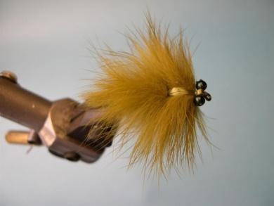 Fly tying - Olive Loop Dragon - Step 9