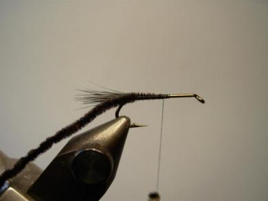 Fly tying - Montana Stone - Step 2